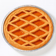 Linzer apricot tart — Stock Photo