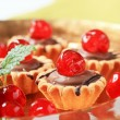 Mini tartlets — Stock Photo