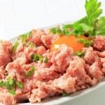 Fresh ground meat — Stock Photo #30606237