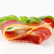 Prosciutto crudo — Stock Photo