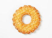Ring-shaped cookie — Stock Photo