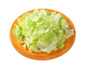 Iceberg lettuce salad — Stock Photo