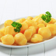 Stock Photo: Boiled potatoes
