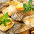 Oven roasted carp fillets — Stock Photo #32211461
