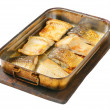 Oven baked carp fillets — Stock Photo #32211679