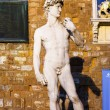 Stock Photo: David statue outside Palazzo Vecchio in Florence