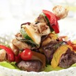 Stock Photo: Grilled shish kebabs