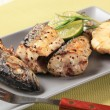 Crispy spiced mackerel — Stockfoto