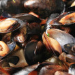 Steamed mussels — Foto de stock #35585753