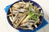 Bowl of fresh sprats — Stock Photo