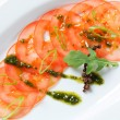 Tomato Carpaccio — Stock Photo