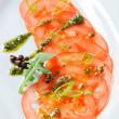 Tomato Carpaccio — Stock Photo #35947911