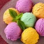 Assorted ice cream — Stock Photo