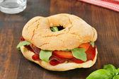 Deli sandwich — Stock Photo