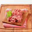 Fresh minced meat — Stock Photo
