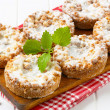 Stock Photo: Apple crumble cookies