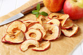 Apple chips — Stock Photo
