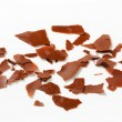 Stock Photo: Chocolate shavings