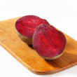 Fresh beetroots on cutting board — Stock Photo #40038979