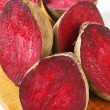 Fresh beetroots on cutting board — Stock Photo #40038995