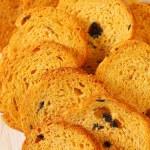 Mini Mediterranean Toasts — Stock Photo