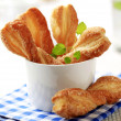 Puff pastry twists — Stock Photo #40384973