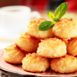 Coconut macaroons — Stock Photo