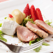 Stock Photo: Pork tenderloin