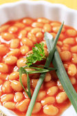 Baked beans — Stock Photo