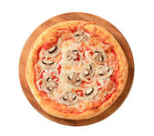 Pizza Fungi — Stock Photo