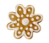 Gingerbread flower — 图库照片