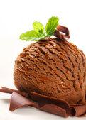 Chocolate ice cream  — Stock Photo