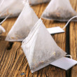 Jasmine tea bags — Stock Photo #48417609