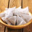 Jasmine tea bags — Stock Photo #48417645