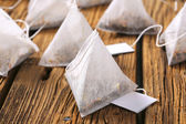 Jasmine tea bags — Stock Photo