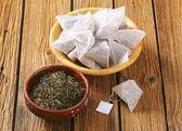 Jasmine Green Tea — Stock Photo