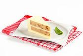 Lezzetli peynir keki — Stok fotoğraf