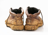 Muddy boots  — Stock Photo