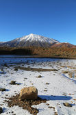 Snow-capped El Teide, Tenerife — Stock Photo