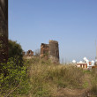 Stock Photo: Ruins in rural Punjab