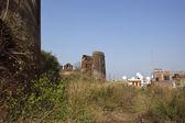 在农村旁遮普邦的废墟 — 图库照片