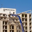 Building demolition — Stock Photo
