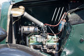 Vintage car engine detail — Stock fotografie