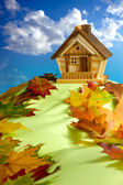 House on a Hill — Stock Photo