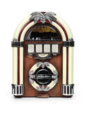 Retro Juke Box Radio — Stock Photo