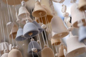 Ceramic Bells — Stock Photo