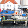 Burgstaaken harbor - Stock Photo