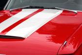 Capuz vermelho — Fotografia Stock