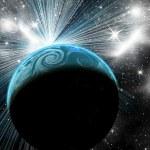 Planeten im Weltraum — Stockfoto #43958019