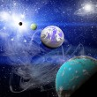 Planets in space — Stock Photo #43958159